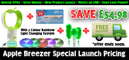 Apple Breezer Special Launch Pricing!